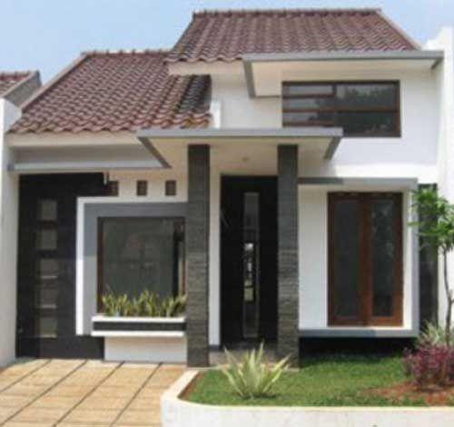 30 Desain Rumah Minimalis Type 45 Desainrumahnya Com Desain Eksterior Rumah Rumah Minimalis Desain Rumah