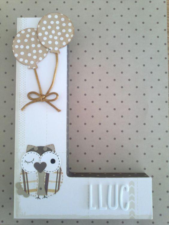 Pinterest el cat logo global de ideas - Letras decoradas infantiles ...