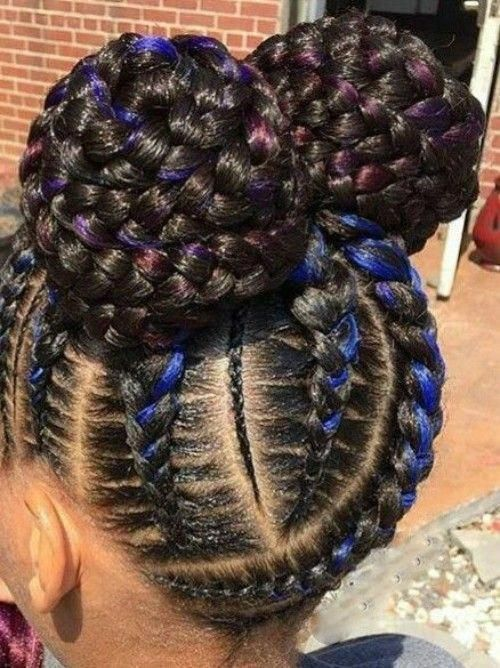 Little Black Girls Braided Hairstyles Braidedhairstyles Hair Black Braid Little In 2020 Little Black Girls Braids Black Girl Braided Hairstyles Hair Styles
