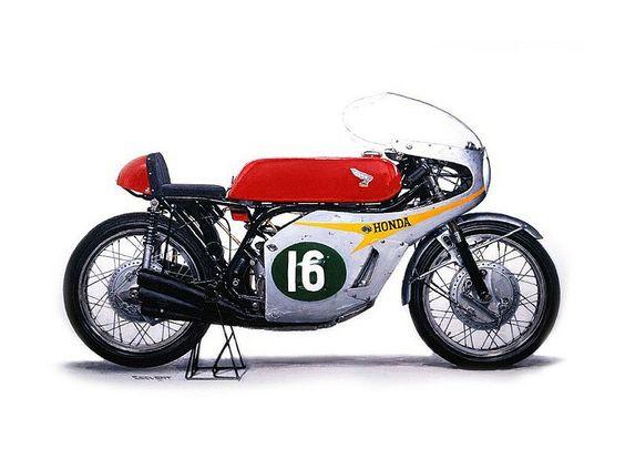 Decoraciones de motos (antiguas y modernas)