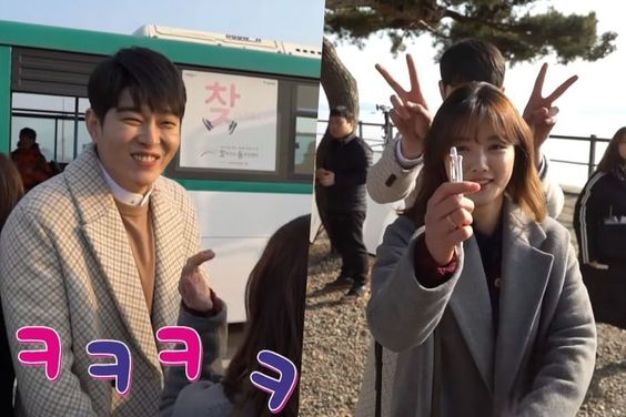 "Watch: Yoon Kyun Sang And Kim Yoo Jung Show Off Their Friendship In ""Clean With Passion For Now"" Making Video"