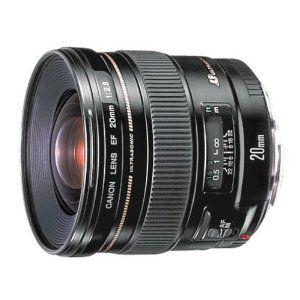 Canon EF 20mm f/2.8 USM Wide Angle Lens for Canon SLR Cameras