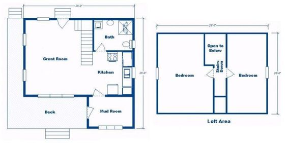 Pinterest the world s catalog of ideas for 24x24 cabin floor plans with loft