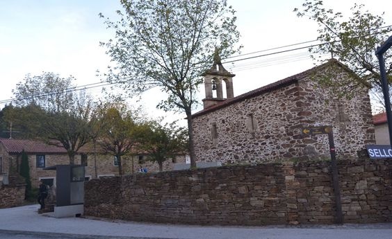 San Paio, La Coruña, Camino de Santiago