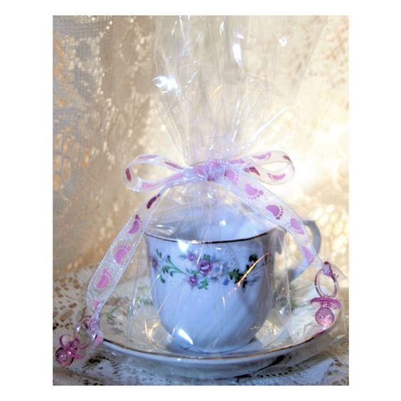 Tea party favors tea cup party wedding baby shower favor for Teacup party favors
