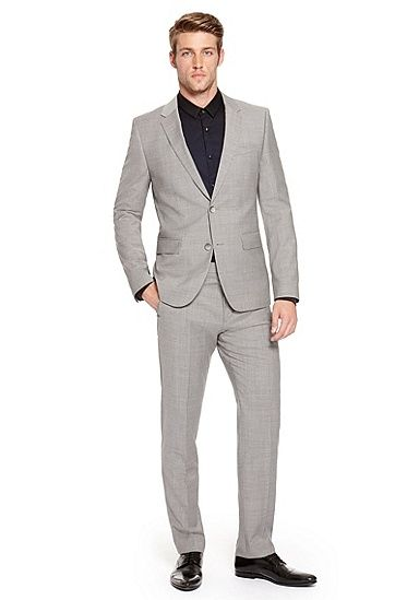Aeron/Hamen' | Slim Fit, Super 100 Virgin Wool Suit, Light/Pastel