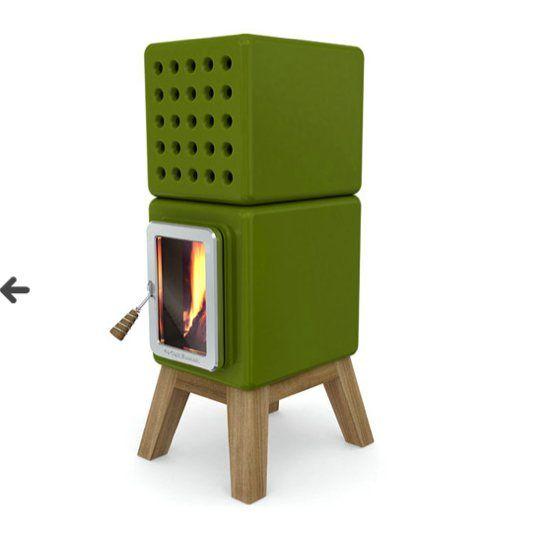 chauffage po les bois design stack la pile design. Black Bedroom Furniture Sets. Home Design Ideas