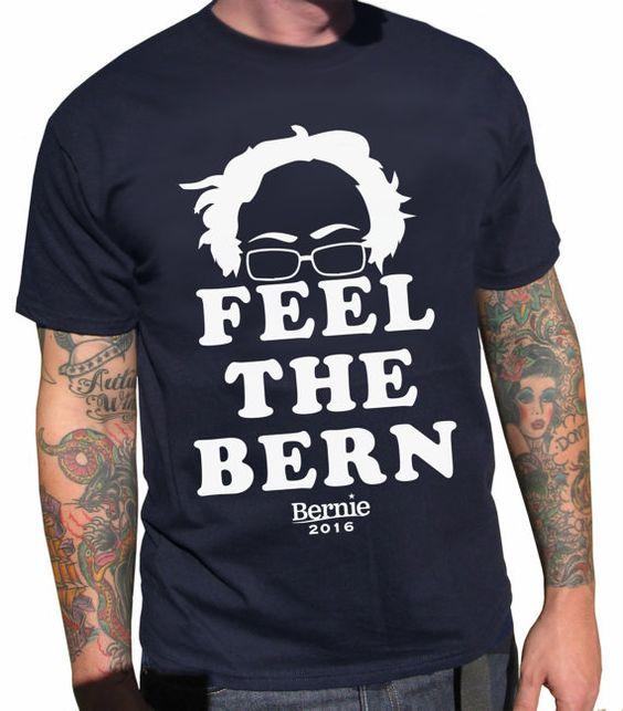 Feel the Bern by FanThreads on Etsy