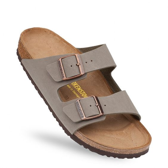 sandales birkenstock arizona gris homme ou femme birko flor nubuck bk151213 1 wishlist. Black Bedroom Furniture Sets. Home Design Ideas