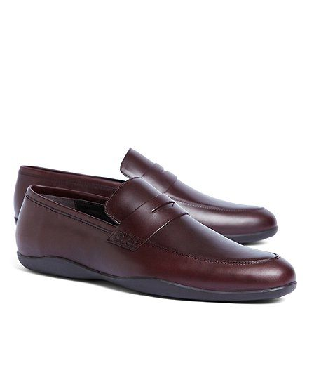 Harry's of London Cordovan Downing Loafer - Brooks Brothers
