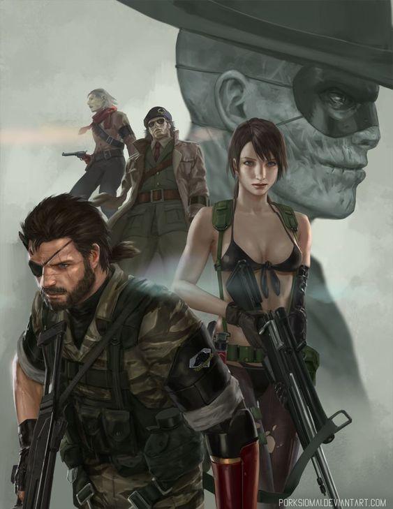 Metal Gear Wallpaper Art Metalgear Cosplayclass Gaming