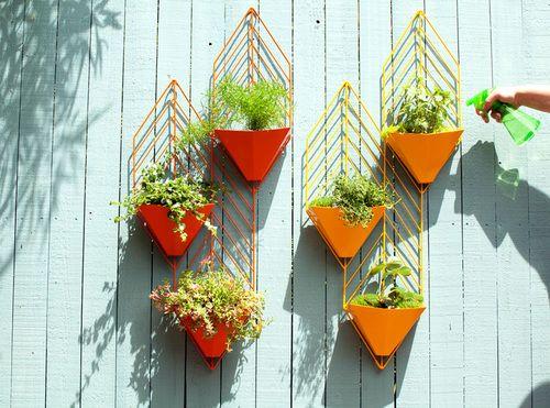 Geometric Planters - Hedge (www.nikkiweedon.com)