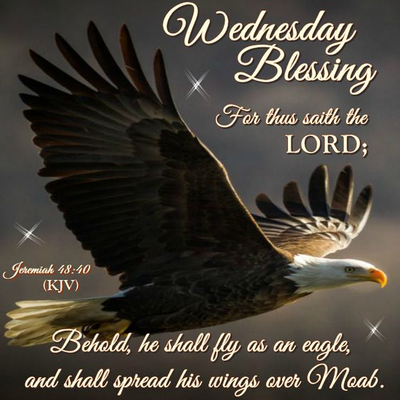 Wednesday Blessing. Jeremiah 48:40