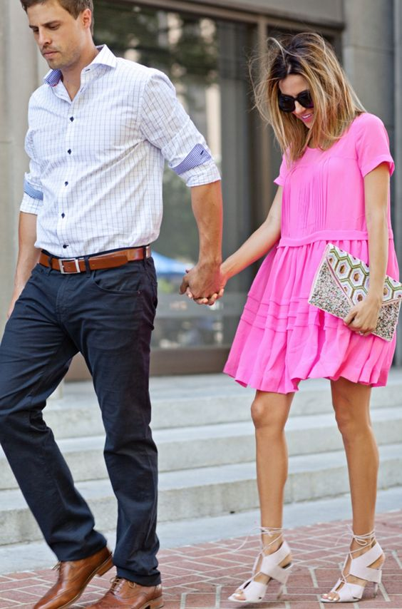 Cute couple with cute style
