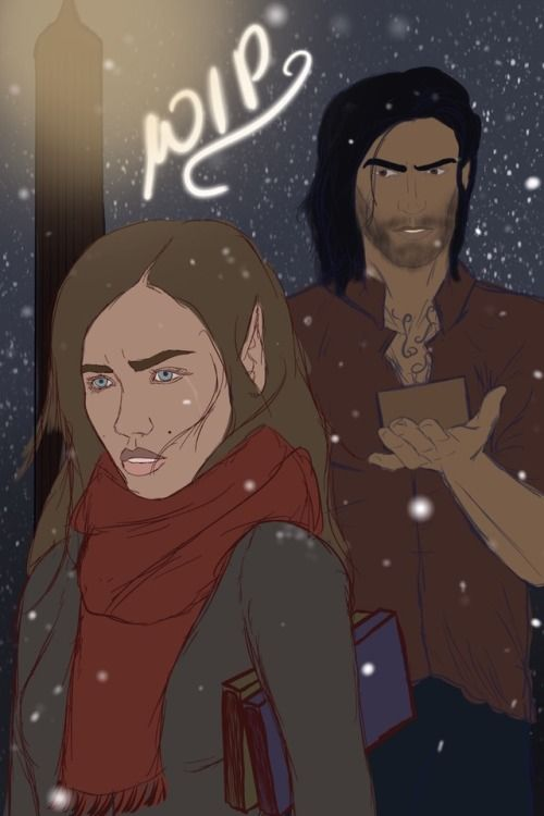 Acofas Nesta And Cassian By Dark Beautiful Art With Images A