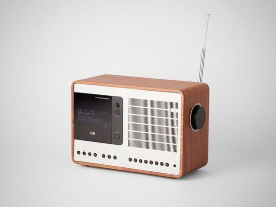 rádio antigo para ouvir rádios
