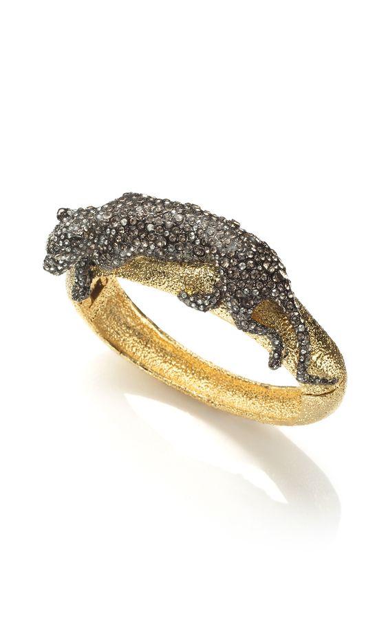 Alexis Bittar Siyabona Panther Bracelet