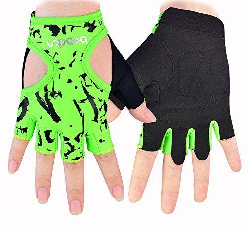 Woman Lycra Half Finger Girl Short Fingerless Gloves For Outdoor Cycling Motorcycle Skate Skateboard Roller Ska Fitness Gloves Women Workout Gloves Yoga Gloves