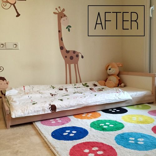 A perfect montessori bed in ikea how to make your own - Ikea letto montessori ...
