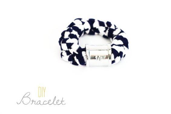 DIY Bracelet | DIY Snüffelstück Armband {Upcycling Tuesday} by http://titatoni.blogspot.de/