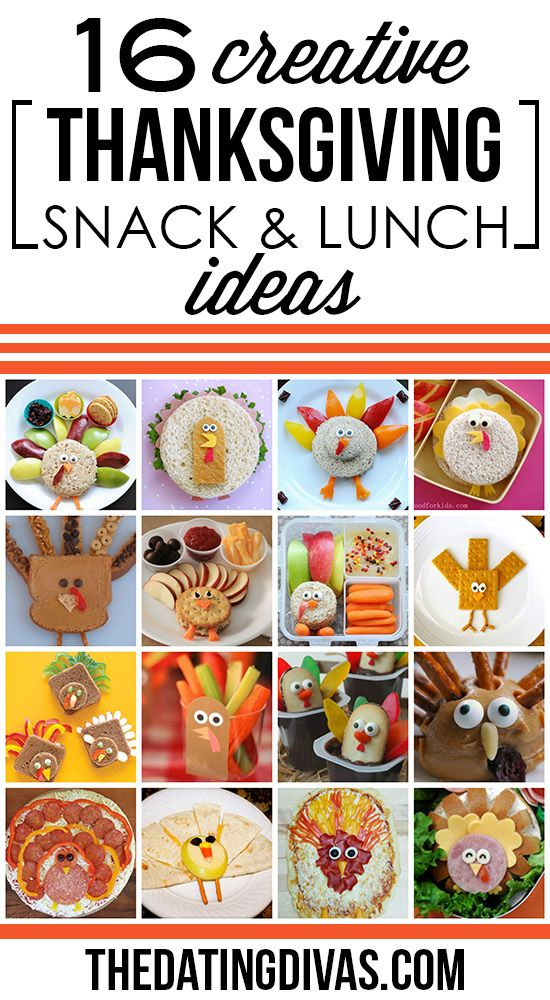 creative snack and lunch ideas for these would be fun to sneak in the