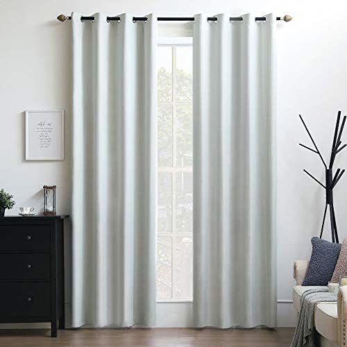 Miulee 100 Blackout Curtains Thermal Insulated Solid Grommet For Bedroom Living Affilink Curtains Curtainsl Curtains Living Room Curtains Blackout Curtains