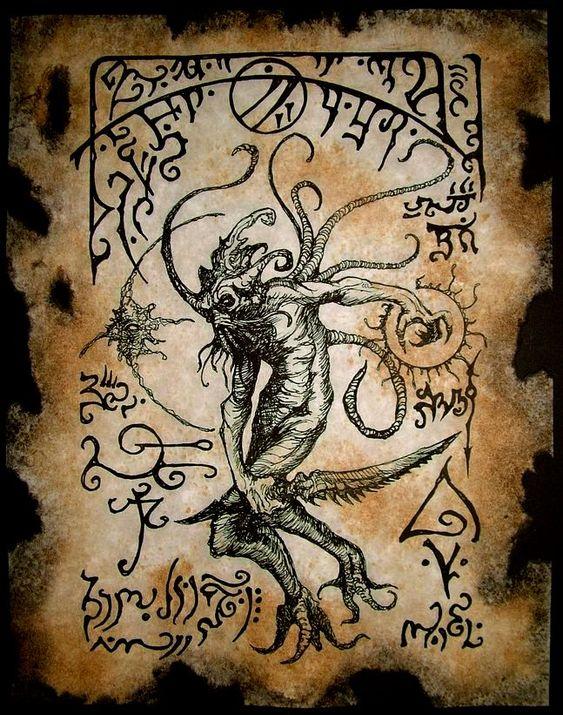 El Necronomicón,un libro salido de los infiernos 6b6aa64c4fc79b4762aae61e5688bc45