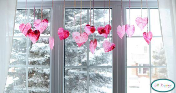Meet the Dubiens: Paper Hearts Decoration