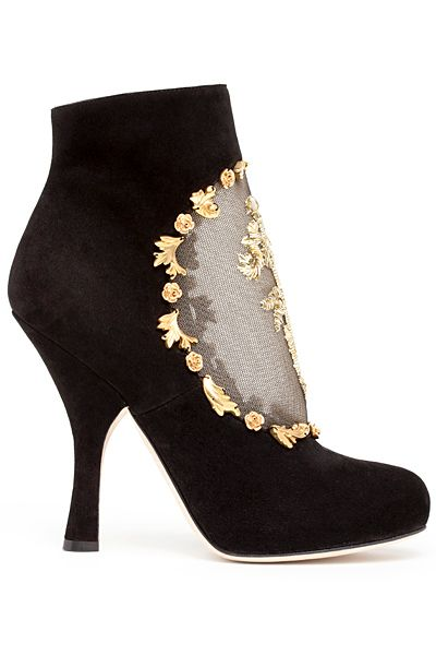 Dolce - Women's Accessories - 2012 Pre-Fall.: Dolce And Gabbana Shoes, Gabbana Boots, Shoes Booties, Shoes Boots, Boots Booties, Dolcegabbana Womens, Beautiful Shoes, Dolce Shoes