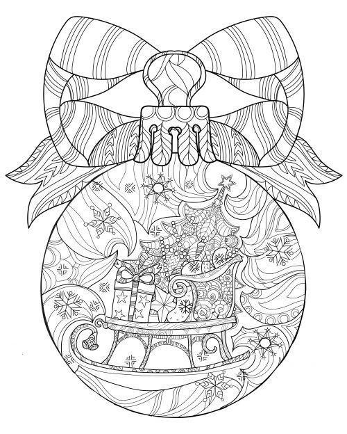 Christmas Ornament Coloring Pages Ausmalbilder Weihnachten Weihnachtsfarben Ausmalbilder