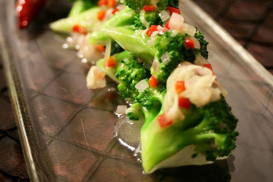 Pickled Ginger & Chilli Glazed Broccoli - Taste by Four Seasons | Taste by Four Seasons