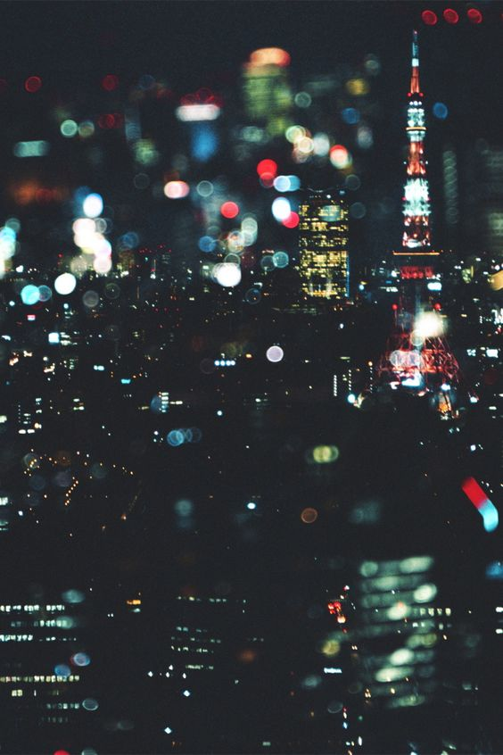 i like this one because of the lights and the way that it looks through the rain.