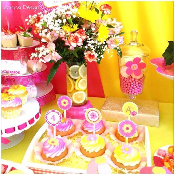 Cupcakes at a Garden Party #garden #partycupcakes