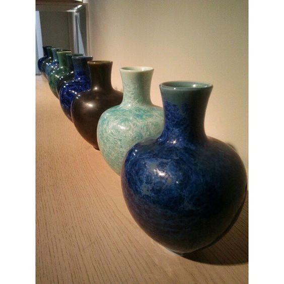 Dday's day 1 #vases #design #ddays #paris #france #blue #deco #designersdays #latergram