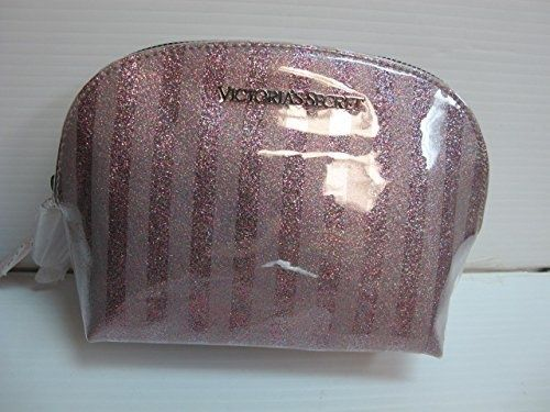 awesome Victoria's Secret Pink Striped Zip up Cosmetic Purse Bag Case - For Sale Check more at http://shipperscentral.com/wp/product/victorias-secret-pink-striped-zip-up-cosmetic-purse-bag-case-for-sale/
