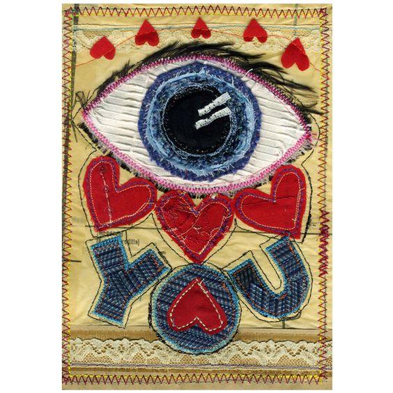 'Eye Love You' - Love card  £2.00