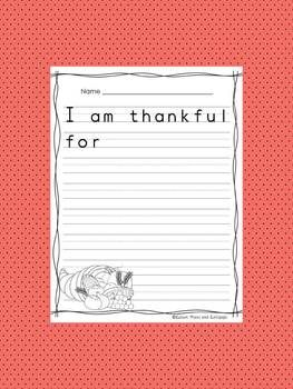 "why am i thankful essay One of the words that has been stripped of its meaning is the word 'blessing'  many of us blithely use the word blessing, such as ""i am so."