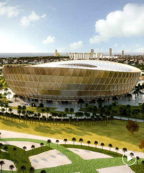 Foster Partners Designs Lusail Stadium For Qatar S 2022 World Cup Qatar Stadium Stadium Foster Partners