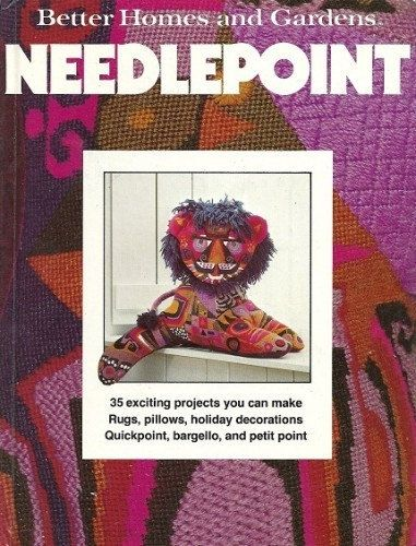 Vintage Better Homes and Gardens Needlepoint Book by scarlettess, $5.00