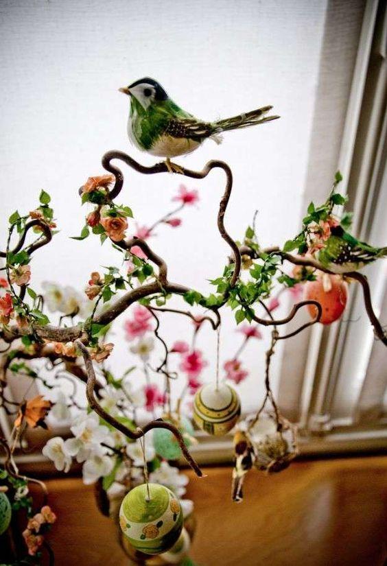 Alberi di Pasqua - Albero di Pasqua in stile vintage Easter trees - Easter tree in vintage style
