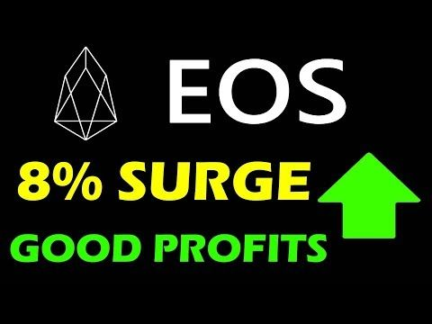 Eos Coin Surge Overall 8 In The Last 6 Days Eos Coin Price Prediction Financial Advice Coin Prices Blockchain Wallet