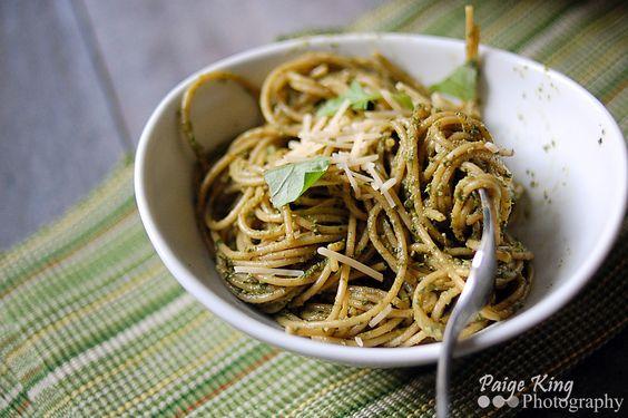 Lighter Pesto | Healthy and Delicious | Pinterest | Pesto Pasta, Pesto ...