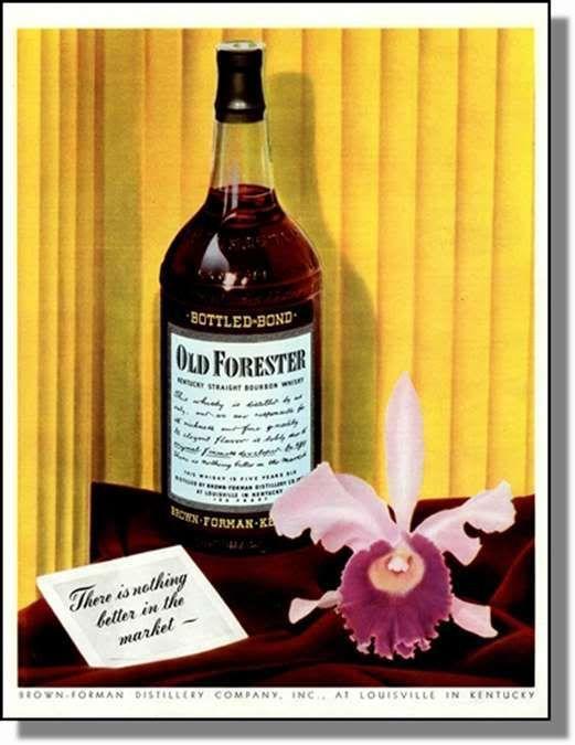 1942 Old Forester Bourbon Whisky Print Ad | eBay