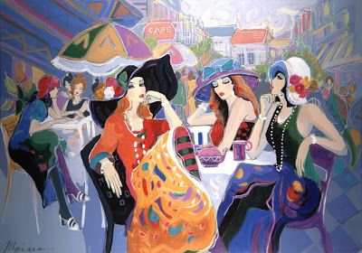 Women in Painting by Israeli Artist Isaac Maimon ~ Blog of an Art Admirer: