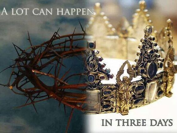 * Easter | A lot can happen in three days.../ From Annette..
