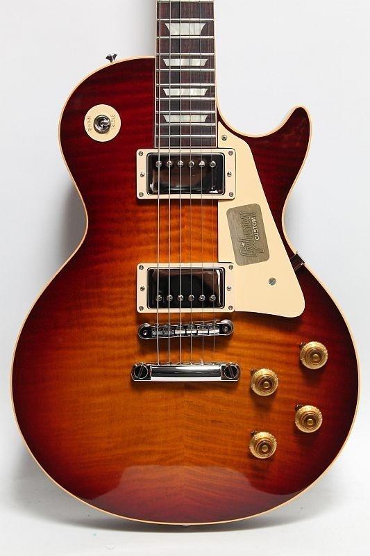 Gibson Custom Shop True Historic 1959 Les Paul Reissue Vintage Cherry Sunburst Gibson Guitars Guitar Gibson Les Paul