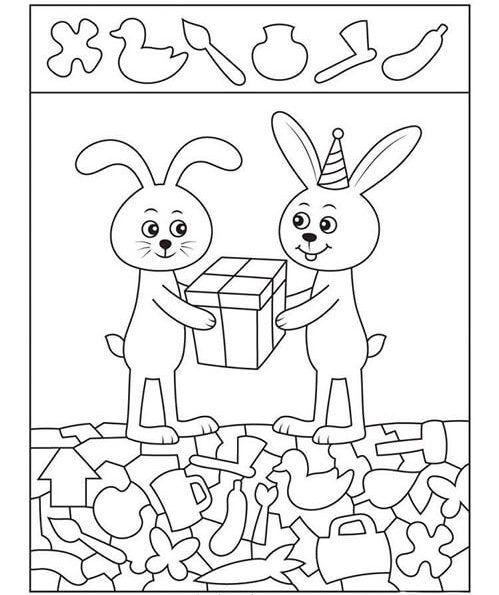 العاب قوة الملاحظة والتركيز اختبار مذهل لقوة الملاحظة من خلال 10 صور بالعربي نتعلم Hidden Pictures Preschool Activities Activities For Kids