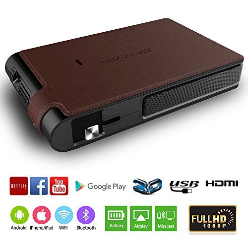 Pico Android 5 1 Dlp Projector 3d Bluetooth 1280x720 Native 300 Ansi Lumen Hdmi Mini Video Projectors Portable For Outdoor Travel Home Entertainment Smartphon In 2020 Ipad Wifi Blu Ray Player Tv Stick