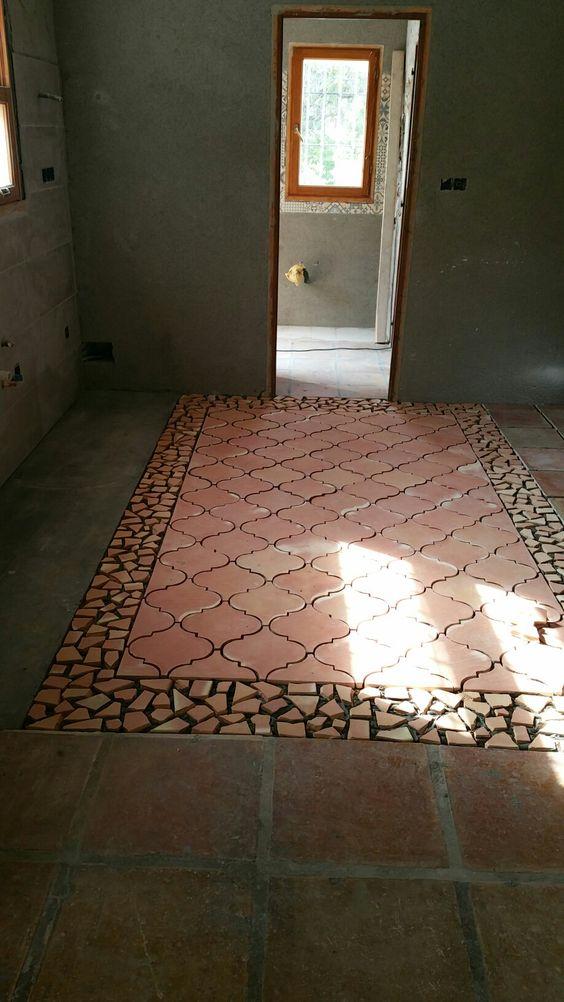 """Creando """"una alfombra de barro Antic Fang"""""""