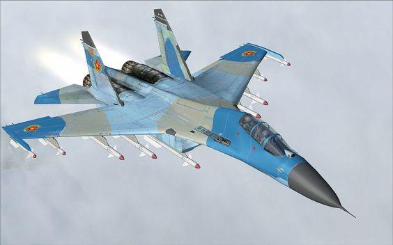 Sujói su-27 Fuerza Aérea de Rusia